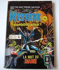 LA MAISON MYSTERE . N°  4 . ARTIMA . COMICS POCKET . 1976