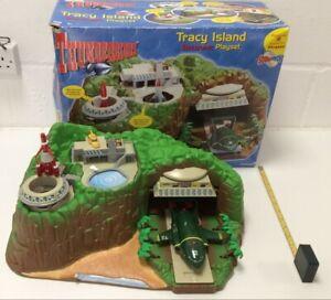 Thunderbirds Tracy Island Electronic Playset Boxed