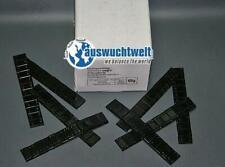 Klebegewichte Auswuchtgewichte für Alufelgen in Schwarz 12x5g Riegel 25 Stück