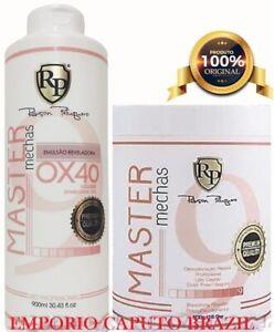 1 Powder Master Mechas + 1 OX 40 volumes Robson Peluquero