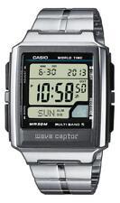 Casio Wave Ceptor Funkuhr WV-59DE-1AVEF Digital Silber