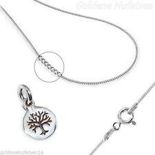 Markenlose Echte Edelmetall-halsketten ohne Steine aus Sterlingsilber mit Familie & Freunde