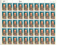 Scott # 2371.22 Cent.J.W.Johnson.Sheet with 50 Stamps
