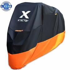 XYZCTEM Motorcycle Cover - All Season Waterproof Outdoor Protection - Precisi...