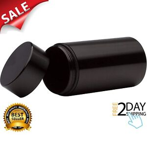 Airtight Smell Proof Aluminum Storage Container Waterproof Weed Accessories Blac