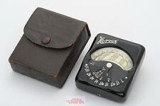 Horvex Belichtungsmesser, Metrawatt A.G. Nürnberg, Vintage Light Meter