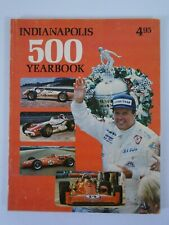 1977 Indianapolis 500 Yearbook Hungness A.J. Foyt 4 X Winner Tape on spline