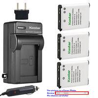 Kastar Battery AC Charger for Nikon EN-EL19 Nikon Coolpix S2500 Coolpix S2550