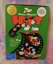 Vintage 7 UP Cool SPOT Computer Game 1990 Floppy Disk Roland MT-32