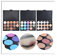 15Colors Cosmetic Matte Smoky Eye Shadow Makeup Shimmer Eyeshadow Palette Set