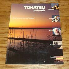 Original 1993 ? Tohatsu Outboard Motor Sales Brochure