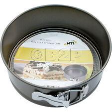 18CM NON STICK SPRING FORM DEEP ROUND CAKE TIN COOKING BAKING COOKIE PAN