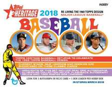 2018 Topps Heritage Complete Your Set Lot (10) Rookie, RC + #1-400 Pick 10