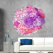 Mandala Wall Decals Full Color Ornament Yoga Decor Sticker Art Home Design DD110