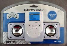 Craig Digital Mp3 White Speaker (Cma3008) New Factory Sealed