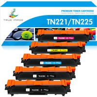 5PK TN221 BK TN225 Color Toner Compatible for Brother MFC-9130CW 9330CDW 9340CDW
