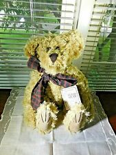 Vintage Mohair Bear UNCLE GUS Boyd's Bears Collection 12+ Inches w Tags