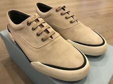 550$ Lanvin Light Gray Suede Sneakers size US 11
