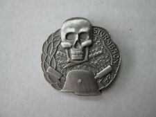 WH wxx sturmbatailon 24 épinglette Tête de mort la wk2 ww2 Crâne steelhelmet