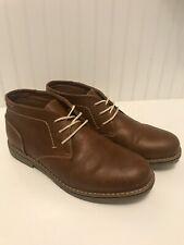 Steve Madden Kids 7 Brown Chukka Casual Boots