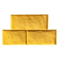 Old Castle Block | Single Tru Tex Vertical Concrete Stamp by Walttools