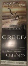 1999 Creed Human Clay 5.5″ x 14″ Foldable Promo Item