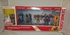 Transformers Age of Extinction Exclusive 6 Figure Collection Set Drift Slug Prim