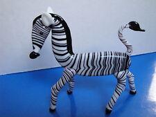 Glass Collection Zebra Figurine