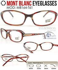 [EyezoneCo] MONT BLANC Eyeglass MB164-T61 Full-Rim Demi Multi-Color Round Frames