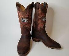 Tony Lama Mens 9 1/2 EE Cowboy Boots 100th Anniversary Classic Western Boots