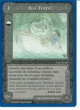 MIDDLE EARTH BLUE BORDER PREMIER RARE CARD FELL TURTLE