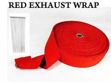 Exhaust Manifold Downpipe RAP Heat Wrap DE CAT PIPE TAPE 5M + 5 Ties Wrap NEW