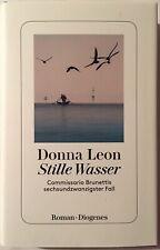 Donna leon firmado libro original firma firma autógrafo