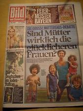 BamS Bastian Schweinsteiger Michelle Hunziker Madonna Jürgen Klopp Leo DiCaprio
