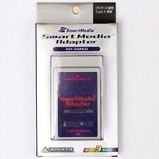 *NEW* GreenHouse PCMCIA PC Card Type II 3.3V 5V SM SmartMedia Memory Card Reader