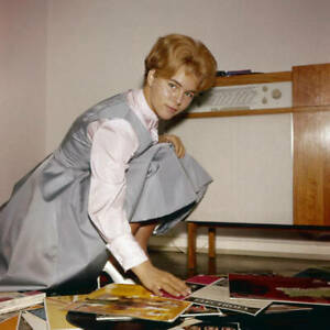 Cornelia Froboess German Singer & Actress, Old Photo of Conny Froboess 1950s 95