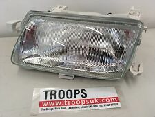 Genuine Vauxhall Astra-F L/H headlight assy with leveling device 90511095
