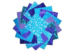 Charm Square Packs, Charm Packs Quilting Fabric 5, Purple Fabric Squares