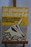 ANCIENNE REVUE JOURNAL LA GUEULE OUVERTE N° 19 MAI 1974 SATYRIQUE