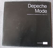 Depeche Mode, everything counts, Maxi vinyl 25 cm avec photos - poch enveloppe