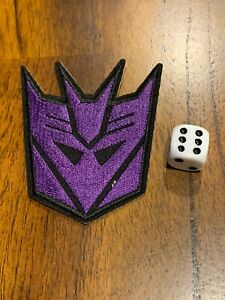 Transformers Decepticon  Iron-on Embroidered Hard Rock Band Patch Autobot #105