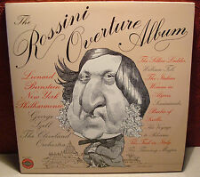 "The Rossini Overture Album Szell and Bernstein Columbia 12"" LP MG35187 Classical"