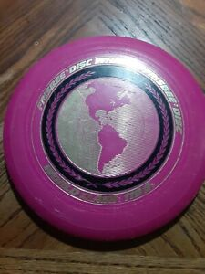 Wham-o World Class Frisbee Disc Model 119 G Vintage 1980 PINK