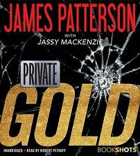 Private: Gold by James Patterson (2017, CD, Unabridged)