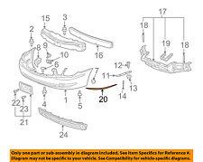 Buick GM OEM 05-09 LaCrosse Front Bumper-Rub Strip Right 15276879