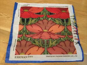 EHRMAN Tapestry POPPIES Needlepoint Kit to Stitch by RAYMOND HONEYMAN *READ*