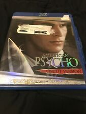 American Psycho (Blu-ray Disc, 2007, Uncut Version) Good Condition- Bale
