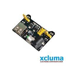 XCLUMA MB102 BREADBOARD POWER SUPPLY  3.3V 5V FOR SOLDERLESS BREADBOARD BE0070