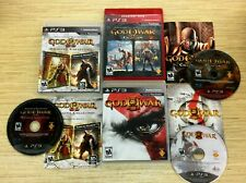 God of War Collection + ORIGINS COLLECTION + 3 III (Sony PlayStation 3 PS3) CIB