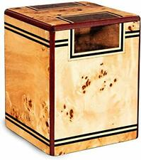 New listing Chateau Urns - Chateau Collection - Keepsake Cremation Urn - Wooden Memorial .